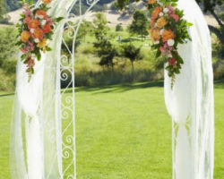Сватбена украса в прасковено